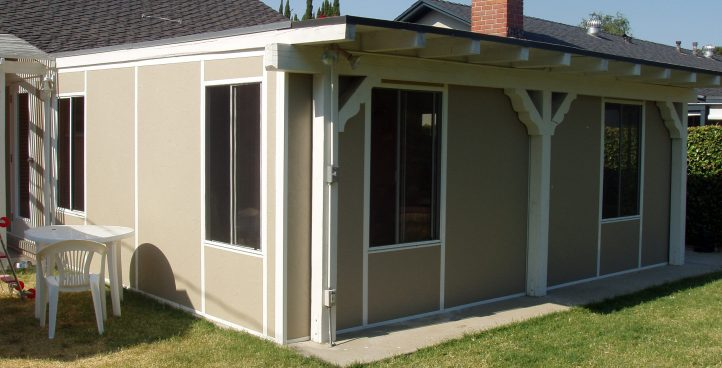 PATIO ENCLOSURES AND COVERS