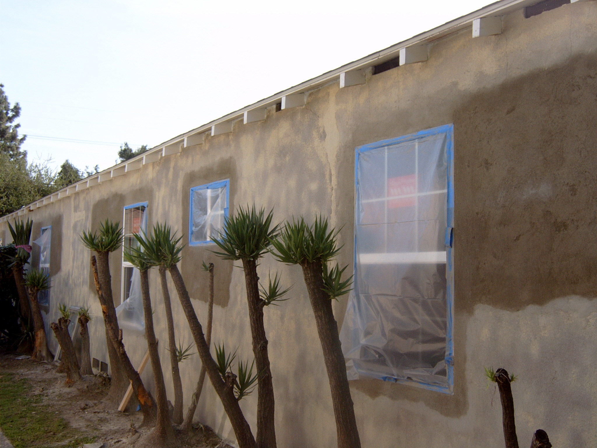 changing windos and restucco (3)